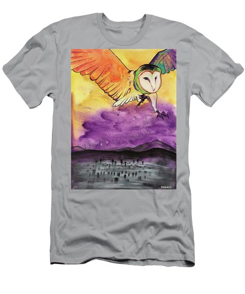 Men's T-Shirt (Athletic Fit) featuring the painting Kingdom Ambassador by Nathan Rhoads