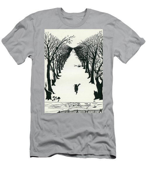 The Cat That Walked By Himself Men's T-Shirt (Athletic Fit)