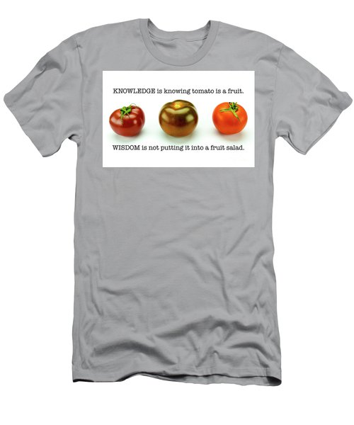 Knowledge And Wisdom Men's T-Shirt (Athletic Fit)