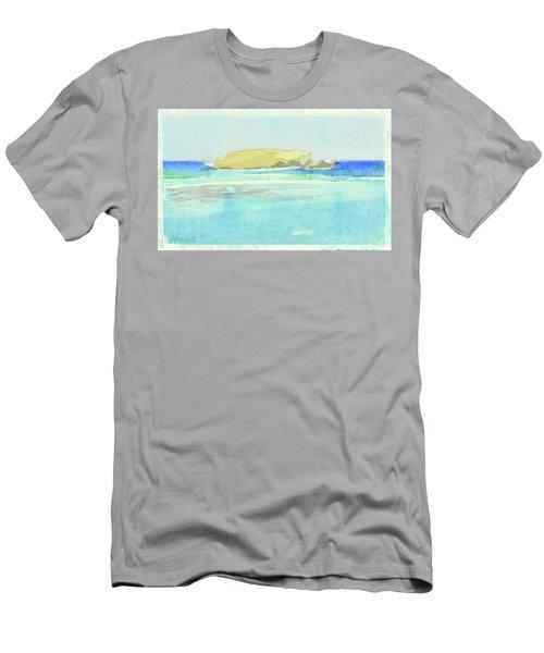 La Tortue, St Barthelemy, 1996_4179, 122x74 Cm, 6,86 Mb Men's T-Shirt (Athletic Fit)