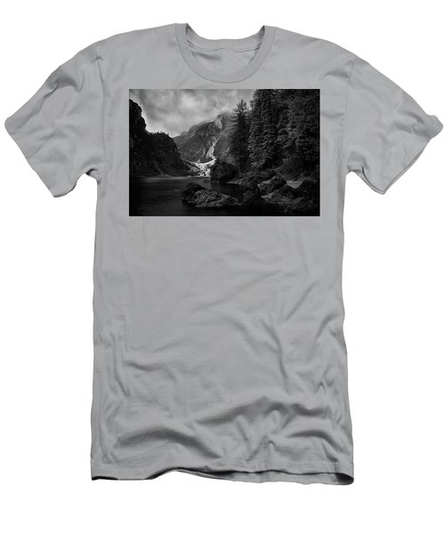 Lake In The Dolomites Men's T-Shirt (Athletic Fit)