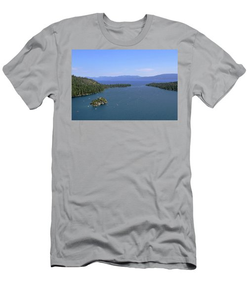Lake Tahoe - Emerald Bay Men's T-Shirt (Athletic Fit)