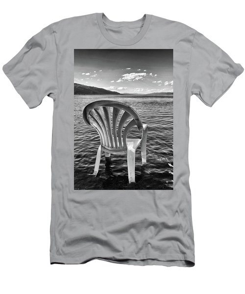 Lakeside Waiting Room Men's T-Shirt (Athletic Fit)