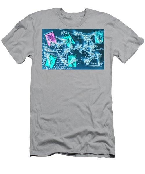 Landmark Love Letter Men's T-Shirt (Athletic Fit)