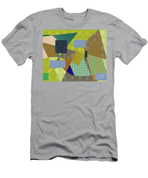 Landscape Number 51 Men's T-Shirt (Athletic Fit)