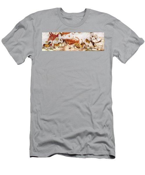 Lascaux Cows Horses And Deer Men's T-Shirt (Athletic Fit)