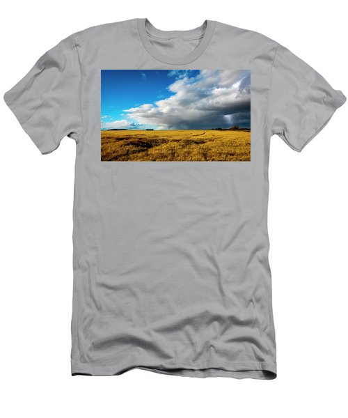 Late Summer Storm With Tornado Men's T-Shirt (Athletic Fit)