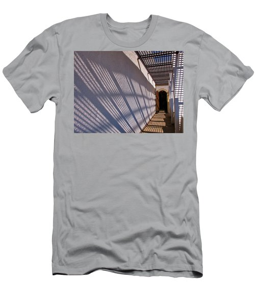 Lattice Shadows Men's T-Shirt (Athletic Fit)