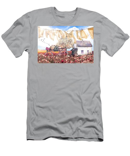 Laundry Day In Soft Vintage Colors Men's T-Shirt (Athletic Fit)