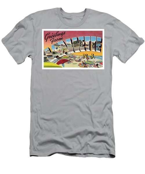 Men's T-Shirt (Athletic Fit) featuring the photograph Lavallette Greetings by Mark Miller