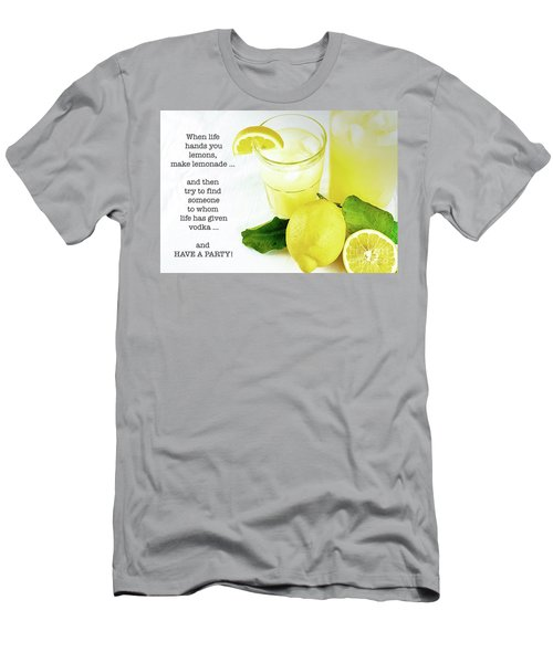 Lemonade And Vodka Men's T-Shirt (Athletic Fit)