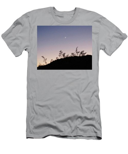 Libra Twilight Crescent Men's T-Shirt (Athletic Fit)
