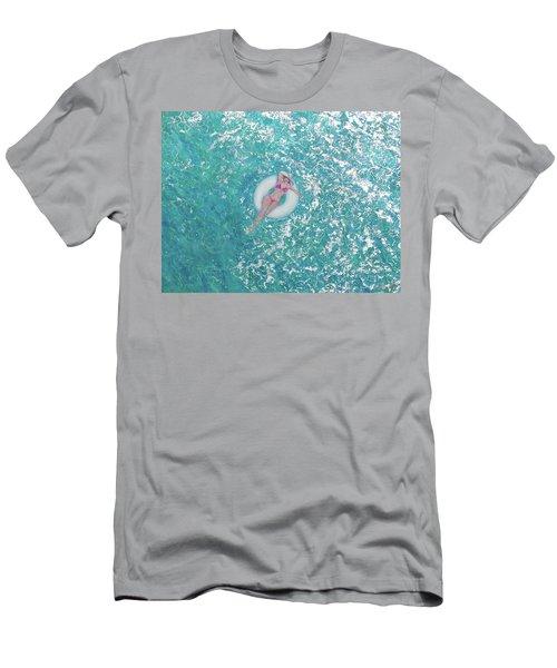 Lightness Of Being Men's T-Shirt (Athletic Fit)