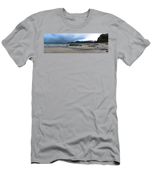 Lofoten Beach Men's T-Shirt (Athletic Fit)