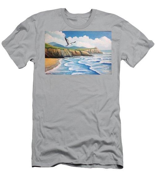 L'oiseau Solitaire Men's T-Shirt (Athletic Fit)