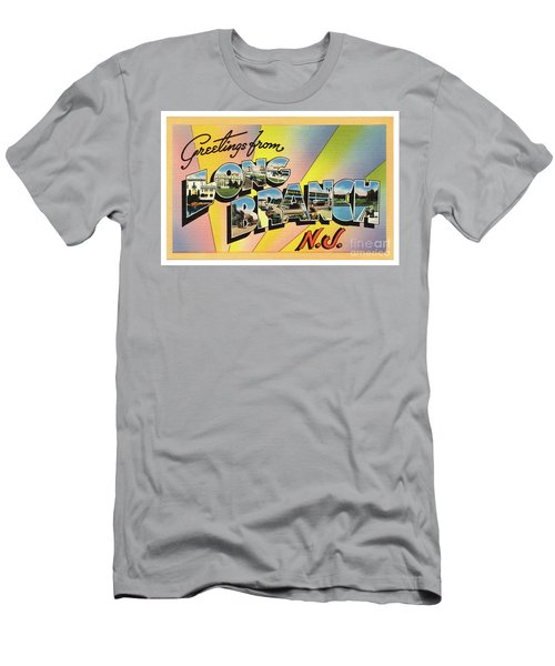 Long Branch Greetings Men's T-Shirt (Athletic Fit)