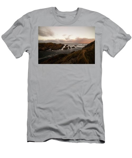 Long Exposure Arctic Men's T-Shirt (Athletic Fit)