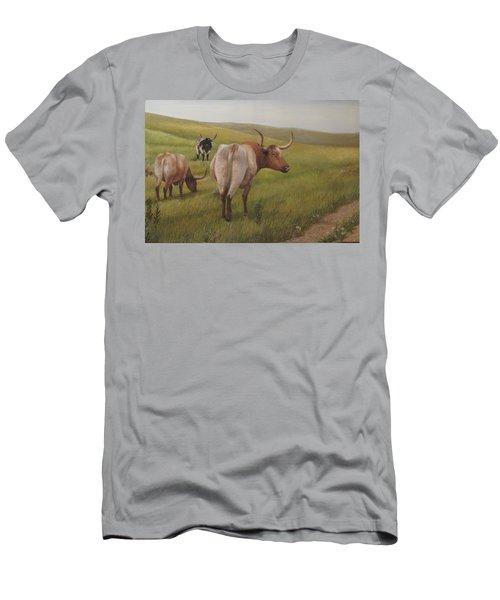 Long Horns Men's T-Shirt (Athletic Fit)