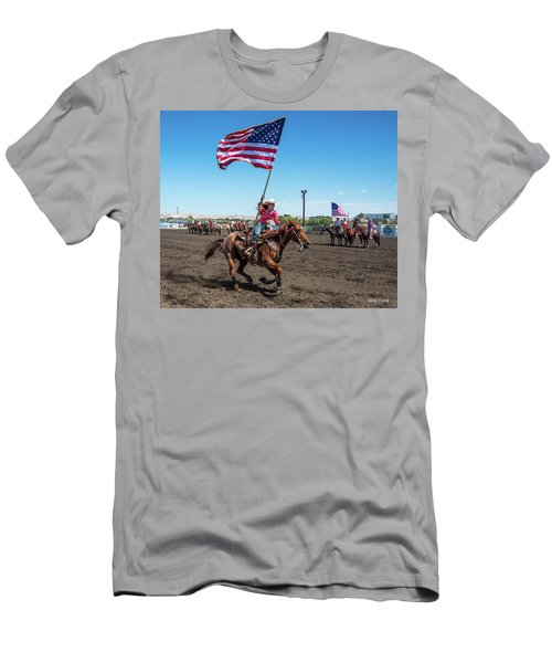 Long May It Wave Men's T-Shirt (Athletic Fit)