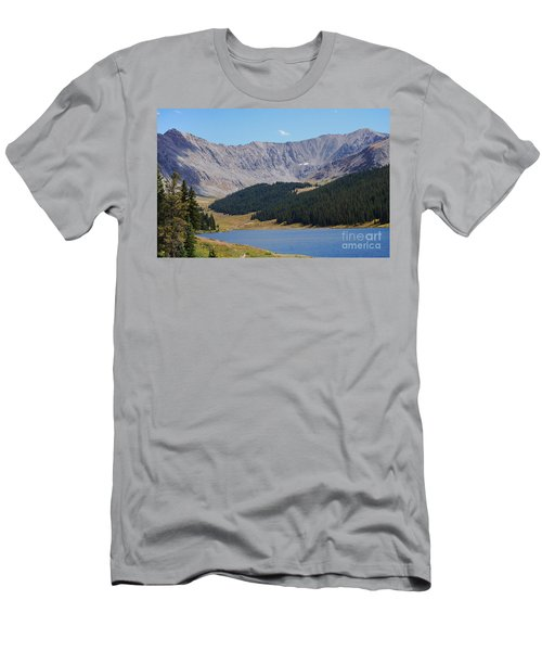Longs Peak Colorado Men's T-Shirt (Athletic Fit)