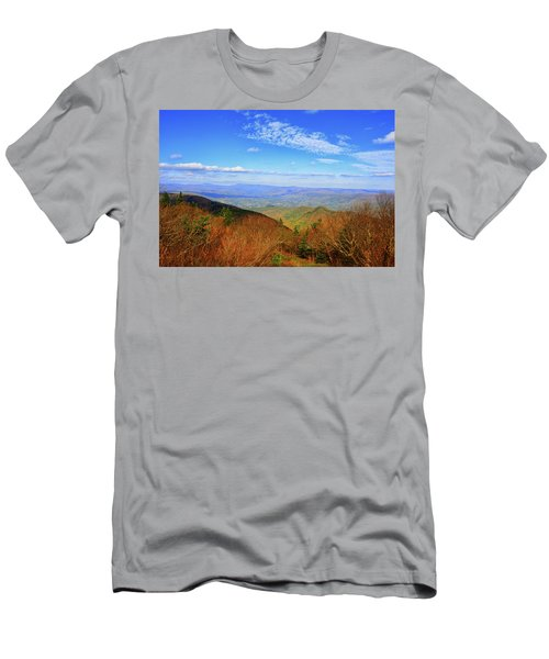 Men's T-Shirt (Athletic Fit) featuring the photograph Looking Towards Vermont And New Hampshire by Raymond Salani III