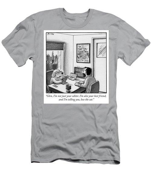 Lose The Cat Men's T-Shirt (Athletic Fit)