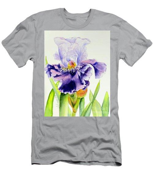 Lovely Iris Men's T-Shirt (Athletic Fit)