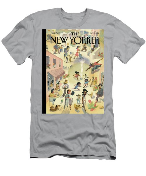 Lower East Side Men's T-Shirt (Athletic Fit)