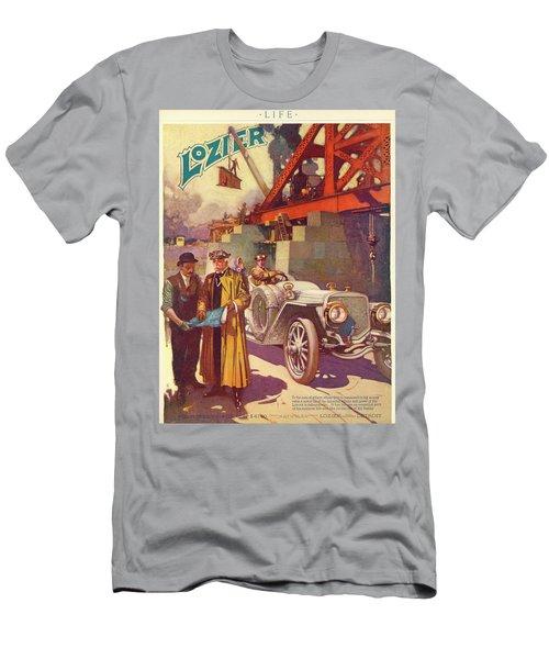 Lozier Advertisement Men's T-Shirt (Athletic Fit)