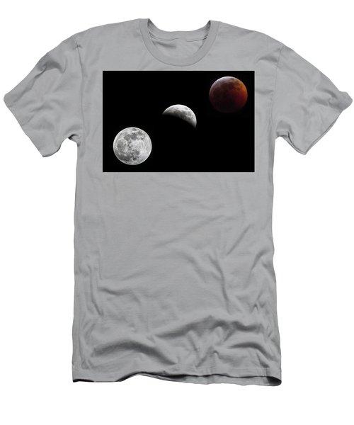 Lunar Eclipse Men's T-Shirt (Athletic Fit)