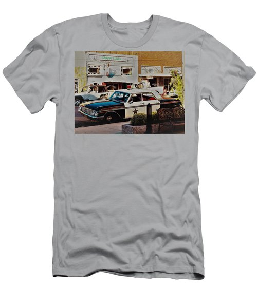 Lunch At Snappy Men's T-Shirt (Athletic Fit)
