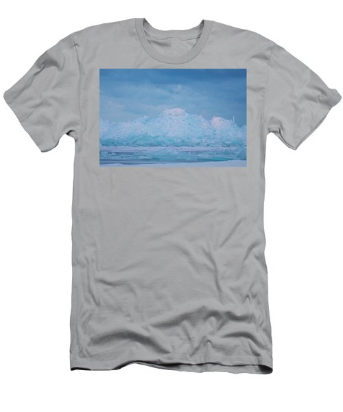 Mackinaw City Ice Formations 2161802 Men's T-Shirt (Athletic Fit)