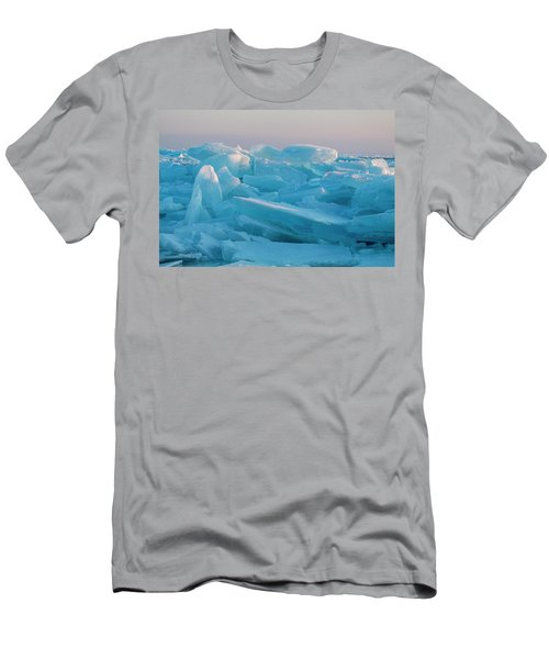 Mackinaw City Ice Formations 2161807 Men's T-Shirt (Athletic Fit)