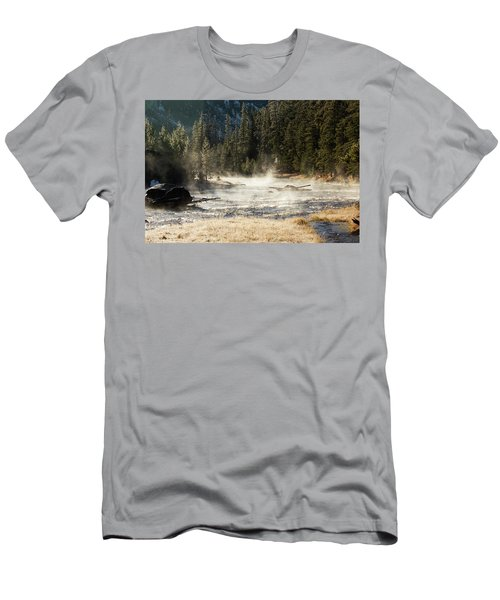 Madison River Morning Men's T-Shirt (Athletic Fit)