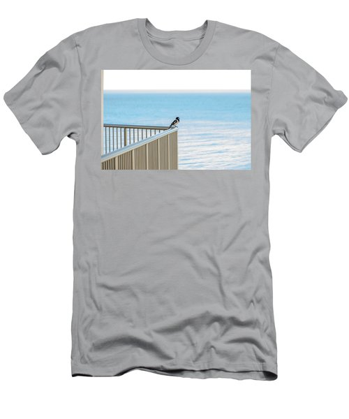 Magpie In Waiting Men's T-Shirt (Athletic Fit)
