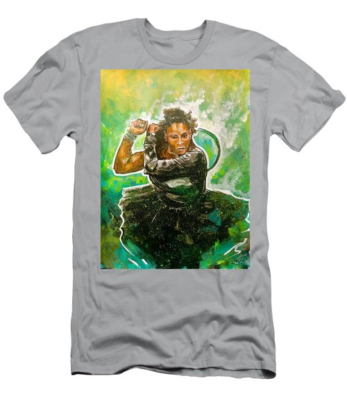 Men's T-Shirt (Athletic Fit) featuring the painting Mama Said Knock You Out by Joel Tesch