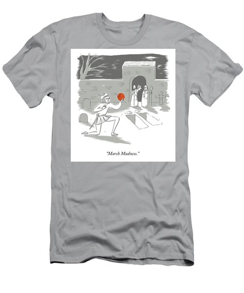 March Madness Men's T-Shirt (Athletic Fit)