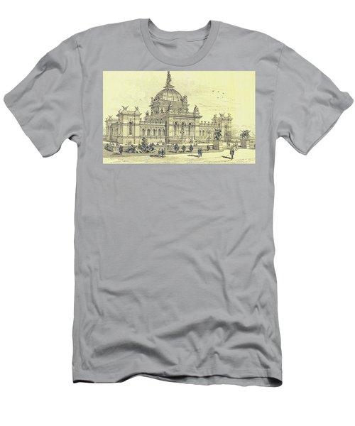 Memorial Hall, Centennial Men's T-Shirt (Athletic Fit)