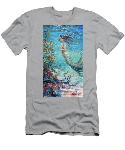Mermaid Neighbors Men's T-Shirt (Athletic Fit)