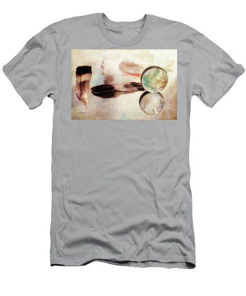 Men's T-Shirt (Athletic Fit) featuring the photograph Messages From Above by Randi Grace Nilsberg