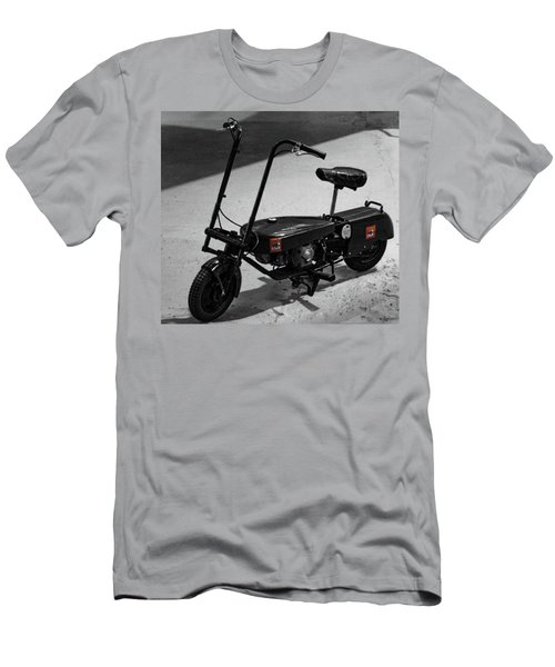 Men's T-Shirt (Athletic Fit) featuring the photograph Messengers Bike by JLowPhotos
