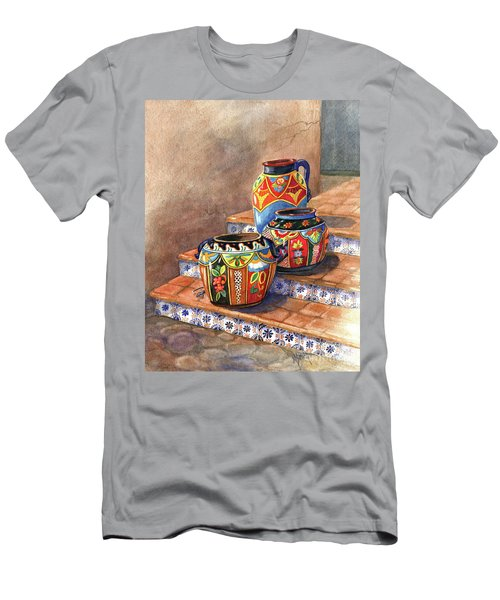 Mexican Pottery Still Life Men's T-Shirt (Athletic Fit)