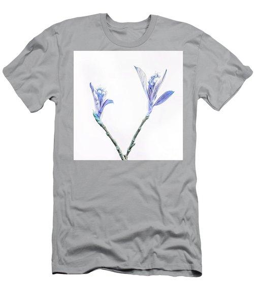Minimalist Chokeberry Buds Men's T-Shirt (Athletic Fit)