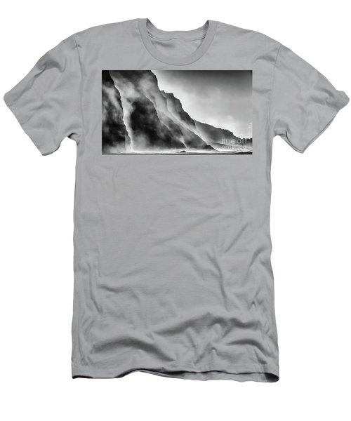 Mist On The Rocks Men's T-Shirt (Athletic Fit)