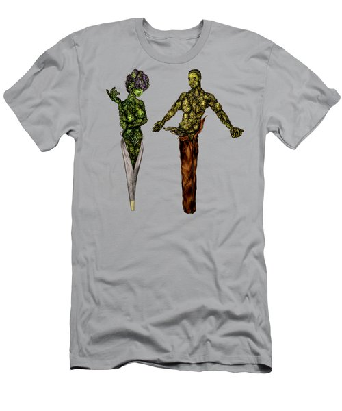 Mj And Brother Backwood Men's T-Shirt (Athletic Fit)