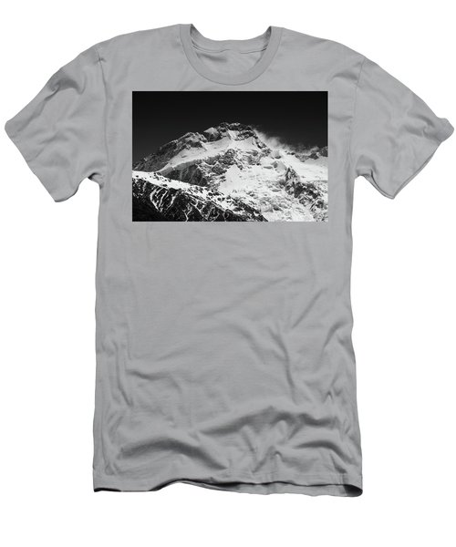 Monochrome Mount Sefton Men's T-Shirt (Athletic Fit)