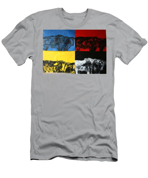 Mooving Out Of Our Land Men's T-Shirt (Athletic Fit)