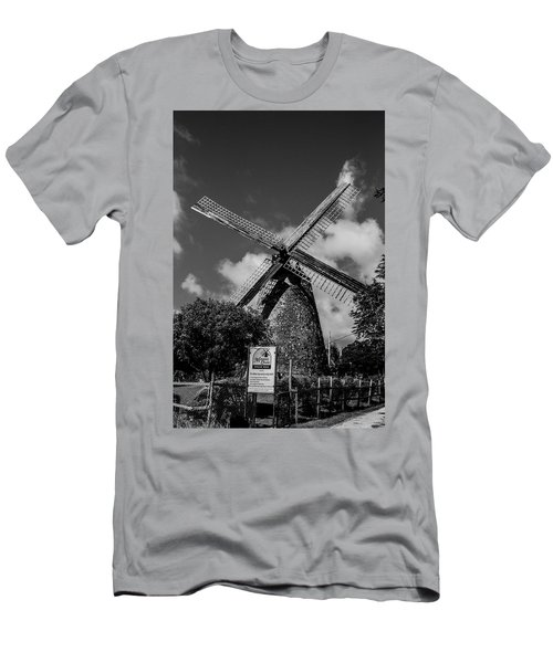 Men's T-Shirt (Athletic Fit) featuring the photograph Morgan Lewis Mill 2 by Stuart Manning