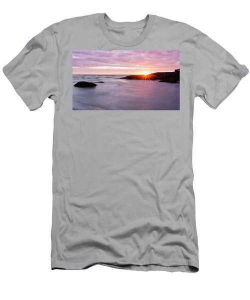 Morning Sun Good Harbor Men's T-Shirt (Athletic Fit)