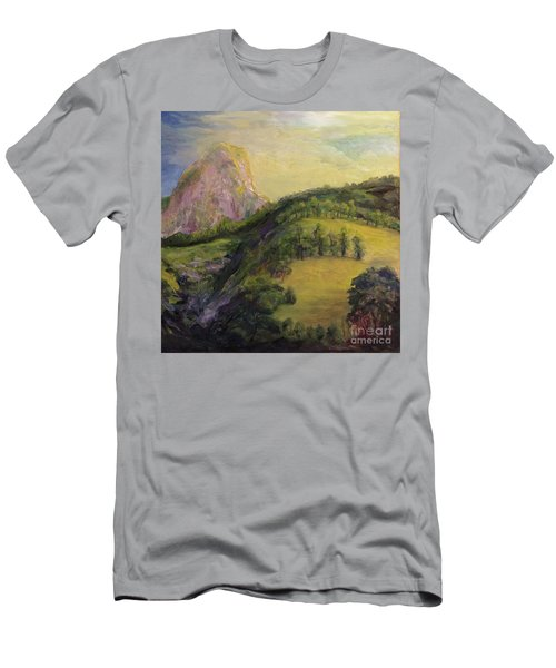 Moro Rock, Kings Canyon Men's T-Shirt (Athletic Fit)